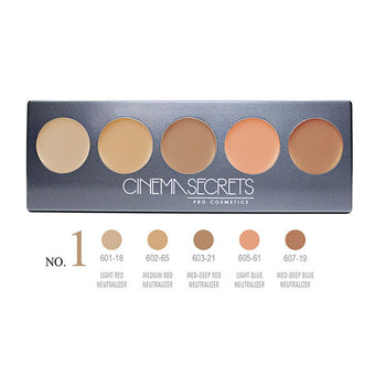 Cinema Secrets Ultimate Corrector 5-IN-1 PRO Palette - Ultimate Corrector 5-IN-1 PRO Palette, No.1 | Camera Ready Cosmetics - 2