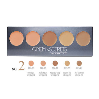 Cinema Secrets Ultimate Corrector 5-IN-1 PRO Palette - Ultimate Corrector 5-IN-1 PRO Palette, No.2 | Camera Ready Cosmetics - 3