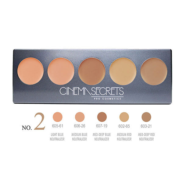 alt Cinema Secrets Ultimate Corrector 5-IN-1 PRO Palette Ultimate Corrector 5-IN-1 PRO Palette, No.2