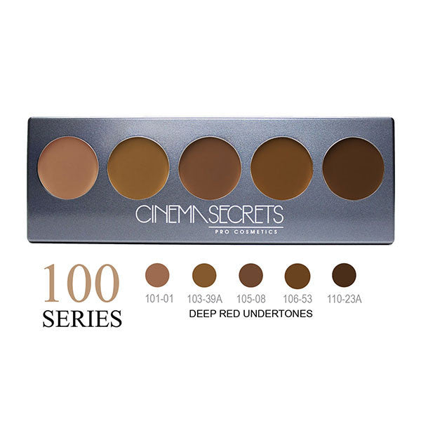 Cinema Secrets Ultimate Foundation 5-IN-1 PRO Palettes - 100 Series | Camera Ready Cosmetics - 2