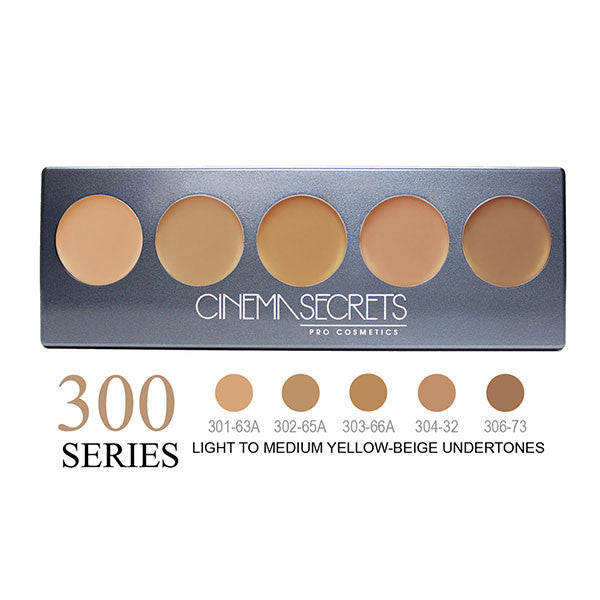 Cinema Secrets Ultimate Foundation 5-IN-1 PRO Palettes - 300 Series | Camera Ready Cosmetics - 4