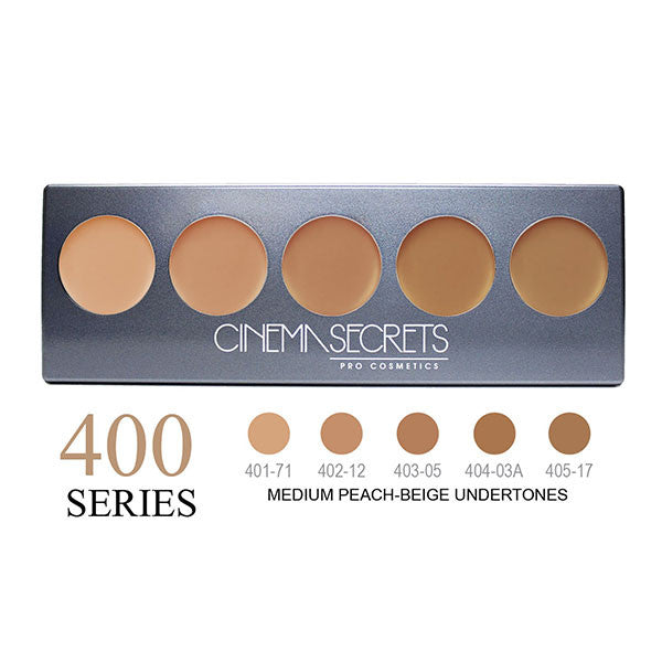 Cinema Secrets Ultimate Foundation 5-IN-1 PRO Palettes - 400 Series | Camera Ready Cosmetics - 5