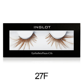 Inglot Decorated Eyelashes - 27F | Camera Ready Cosmetics - 7