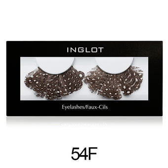 Inglot Decorated Eyelashes - 54F | Camera Ready Cosmetics - 13