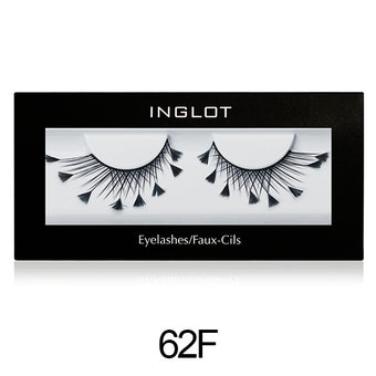 Inglot Decorated Eyelashes - 62F | Camera Ready Cosmetics - 14