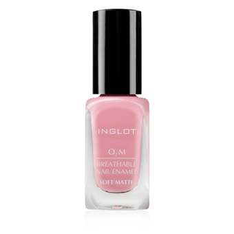 Inglot O2M Breathable Nail Enamel Soft Matte - 505 | Camera Ready Cosmetics - 6