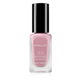 Inglot O2M Breathable Nail Enamel Soft Matte - 506 | Camera Ready Cosmetics - 7