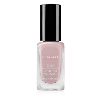 Inglot O2M Breathable Nail Enamel Soft Matte - 507 | Camera Ready Cosmetics - 8
