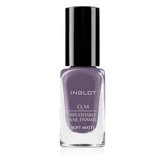 Inglot O2M Breathable Nail Enamel Soft Matte - 537 | Camera Ready Cosmetics - 17