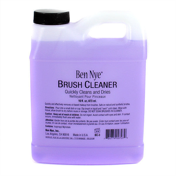 Ben Nye Brush Cleaner (USA Only) - 16oz Bottle (BC-3) | Camera Ready Cosmetics - 6
