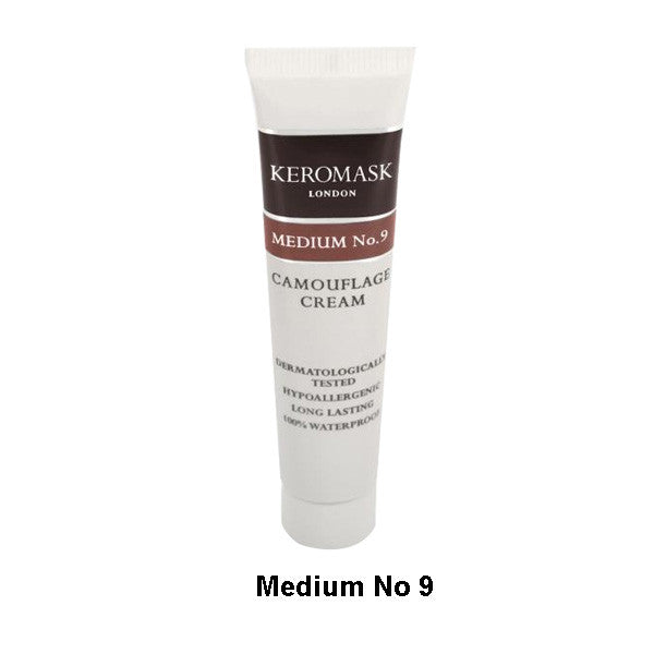 Keromask Camouflage Cream - Cream Medium N0. 9 (Brown) | Camera Ready Cosmetics - 24