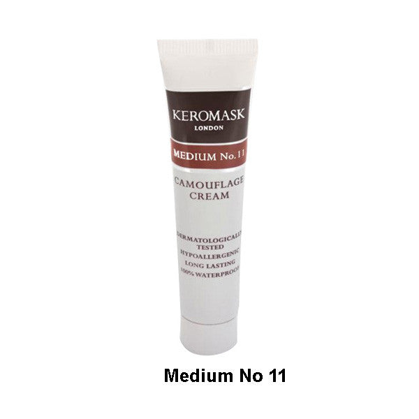 Keromask Camouflage Cream - Cream Medium N0. 11 (Chestnut) | Camera Ready Cosmetics - 25