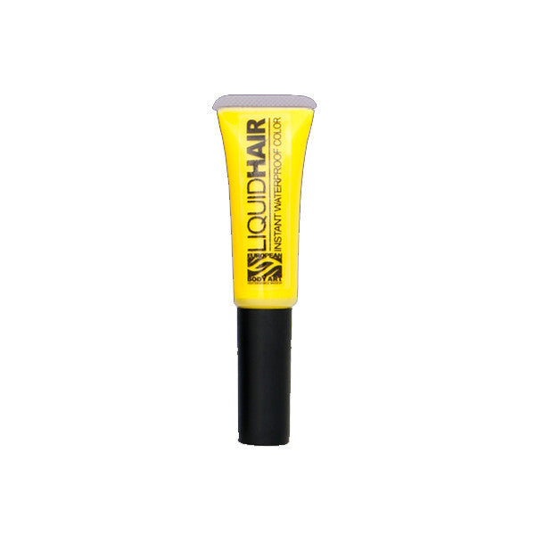 European Body Art - Liquid Hair - Yellow (Bright Yellow) | Camera Ready Cosmetics - 19