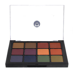 alt Viseart 12-Color Eyeshadow Palette - 04 Dark Mattes