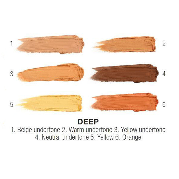 NYX - Conceal, Correct, Contour Palette - Deep - 3CP03 | Camera Ready Cosmetics - 2