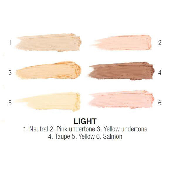 NYX - Conceal, Correct, Contour Palette - Light- 3CP01 | Camera Ready Cosmetics - 3