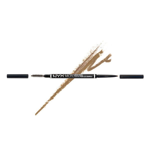 NYX - Micro Brow Pencil - Blonde - MBP02 | Camera Ready Cosmetics - 5