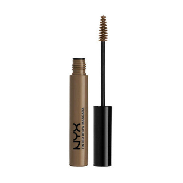 NYX - Tinted Brow Mascara - Brunette - TBM03 | Camera Ready Cosmetics - 4