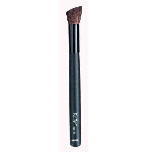 Ben Nye Makeup Brush - Rouge (New Design) - RB-154 Angle Rough Brush | Camera Ready Cosmetics - 5