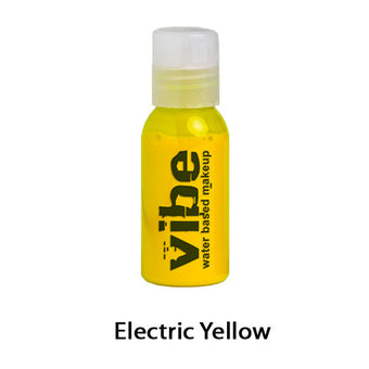 European Body Art Vibe Airbrush Liquids - Electric Yellow | Camera Ready Cosmetics - 22