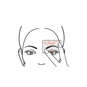 Chella Beautiful Eyebrow Stencil -  | Camera Ready Cosmetics - 3