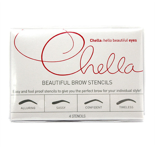 Chella Beautiful Eyebrow Stencil -  | Camera Ready Cosmetics - 1