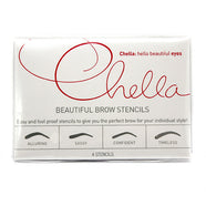 Chella Beautiful Eyebrow Stencil -   - 1