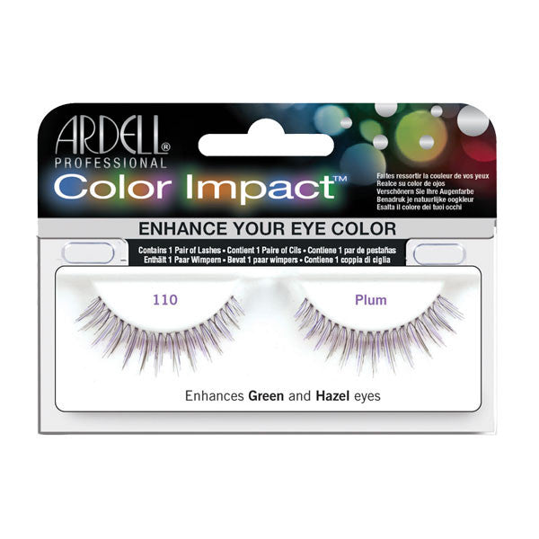 Ardell Color Impact 110 - Color Impact 110 - Plum (61476) | Camera Ready Cosmetics - 3