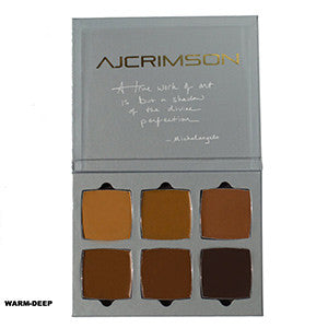 alt AJ Crimson Beauty 6 Shade Book Warm Palette