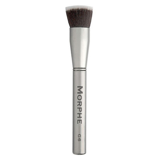 Morphe - Gun Metal Brush Collection - G6-Flat Buffer | Camera Ready Cosmetics - 5