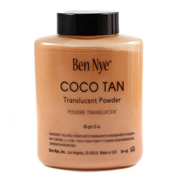 Ben Nye Classic Translucent Face Powder Coco Tan - 3.0 oz (TP-45)  - 4