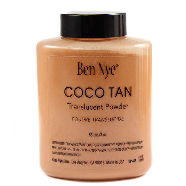 alt Ben Nye Coco Tan Classic Translucent Face Powder 3.0 oz (TP-45)