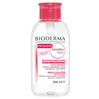 alt Bioderma Sensibio H2O 500 ml. Pump (Limited Edition)