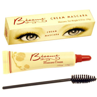 alt Besame Cosmetics 1940 Cream Mascara - Limited Production