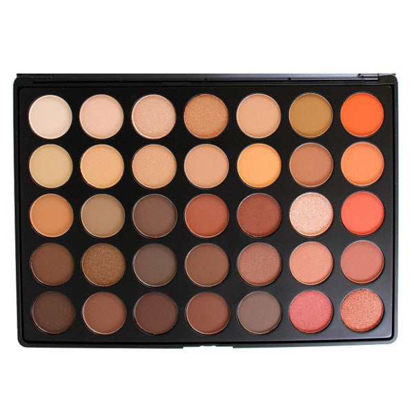 Morphe 35O - 35 Color Nature Glow Eye Shadow Palette -  | Camera Ready Cosmetics - 1