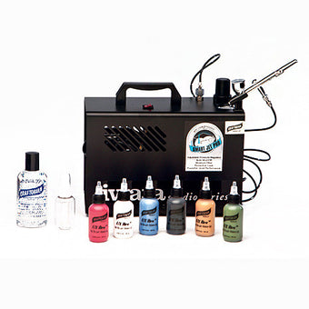 alt Graftobian Single Brush Airbrush System - F/X Aire™ Primary Shades (20098P)