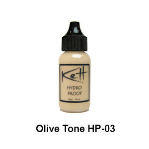 Kett Hydro PROOF Airbrush Foundation, Olive Series - 1oz (USA Only) - Olive Tone HP-O3 PROOF | Camera Ready Cosmetics - 3