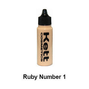 Kett Hydro Foundation Ruby Series - Single 1oz - Ruby 1 (H-R1) | Camera Ready Cosmetics - 2