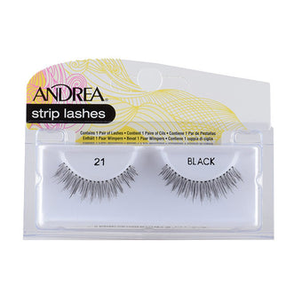 Andrea Strip Style Lash #21 Black (22110)  | Camera Ready Cosmetics