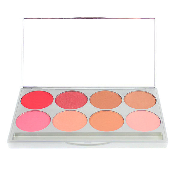 Graftobian Powder Blush Palette - Warm (30131) | Camera Ready Cosmetics - 4