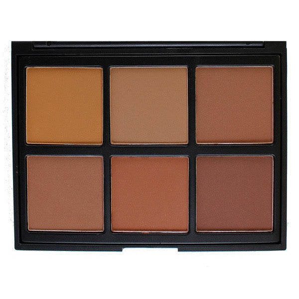 Morphe - 06PW - Warm Pro Definition Palette -  | Camera Ready Cosmetics - 1