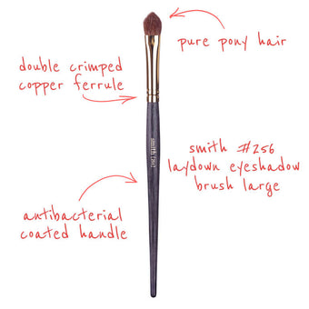 alt Smith Cosmetics 256 Arrowhead Laydown Brush Large