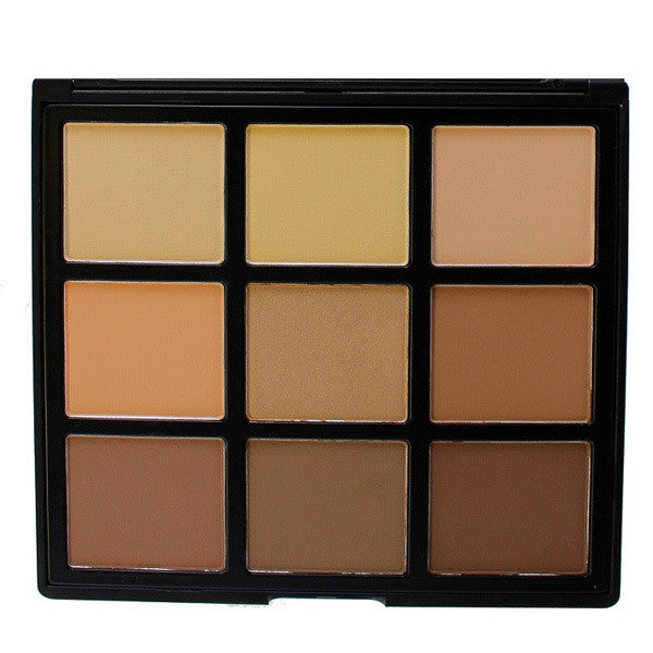 Morphe - 9C - 9 Color Highlight/Contour Palette -  | Camera Ready Cosmetics - 1