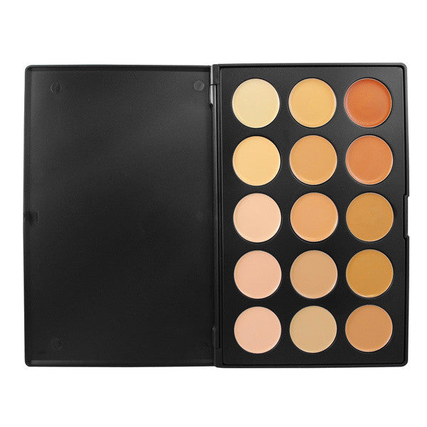 Morphe - 15CON - 15 Color Concealer Palette -  | Camera Ready Cosmetics - 2