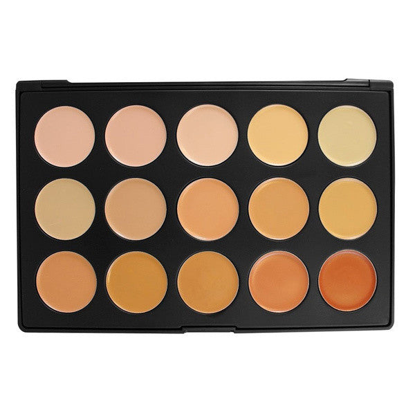 Morphe - 15CON - 15 Color Concealer Palette -  | Camera Ready Cosmetics - 1