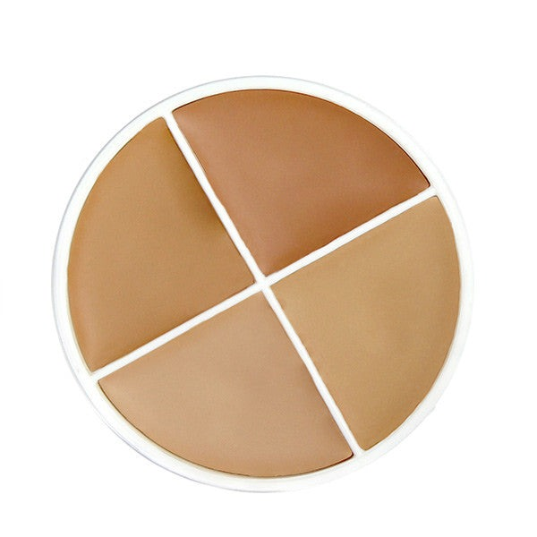 RCMA Makeup Four Color Foundation - B: KO-5 to KO-8 | Camera Ready Cosmetics - 4