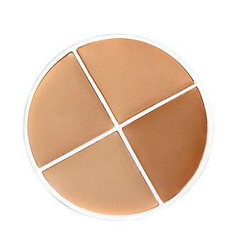 alt RCMA Makeup Four Color Foundation G: Olive 1 to Olive 4
