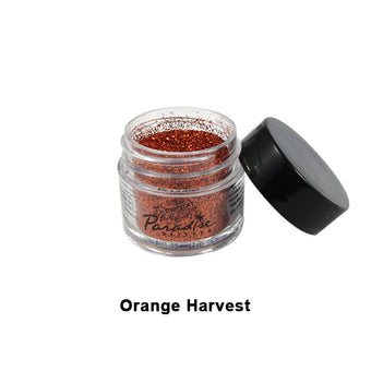 Mehron Paradise Glitter - Orange Harvest (827-OH) | Camera Ready Cosmetics - 9