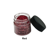Mehron Paradise Glitter - Dynamite Red (827-R) | Camera Ready Cosmetics - 6