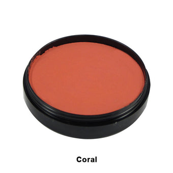 Mehron Paradise Cake Makeup AQ - Pro Size - Coral (800-C) | Camera Ready Cosmetics - 6